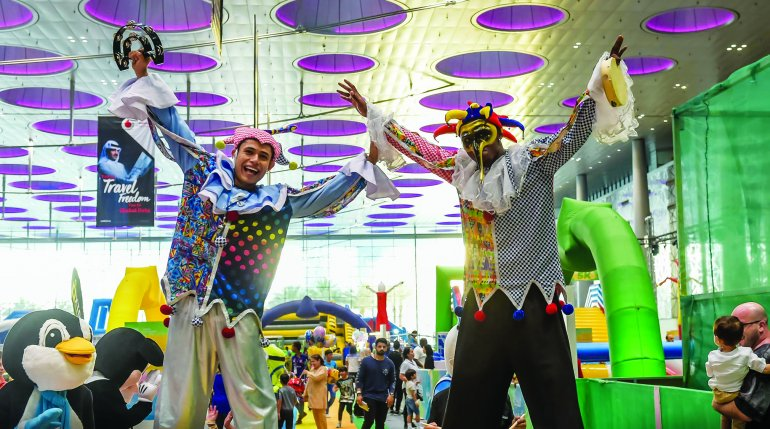 Qatar Summer Festival spirit beats siege gloom