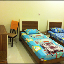 Salle privée spacieuse et confortable !!