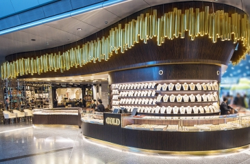 Qatar Duty Free opens third gold shop in Hamad Airport